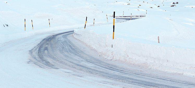 0320 Schnee Straße