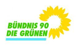Gruene Logo 4c aufTransparent hellesBlau gr  naufweiss