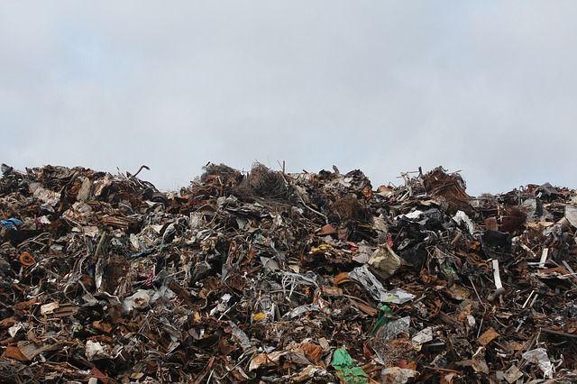 Mülldeponie Symbol