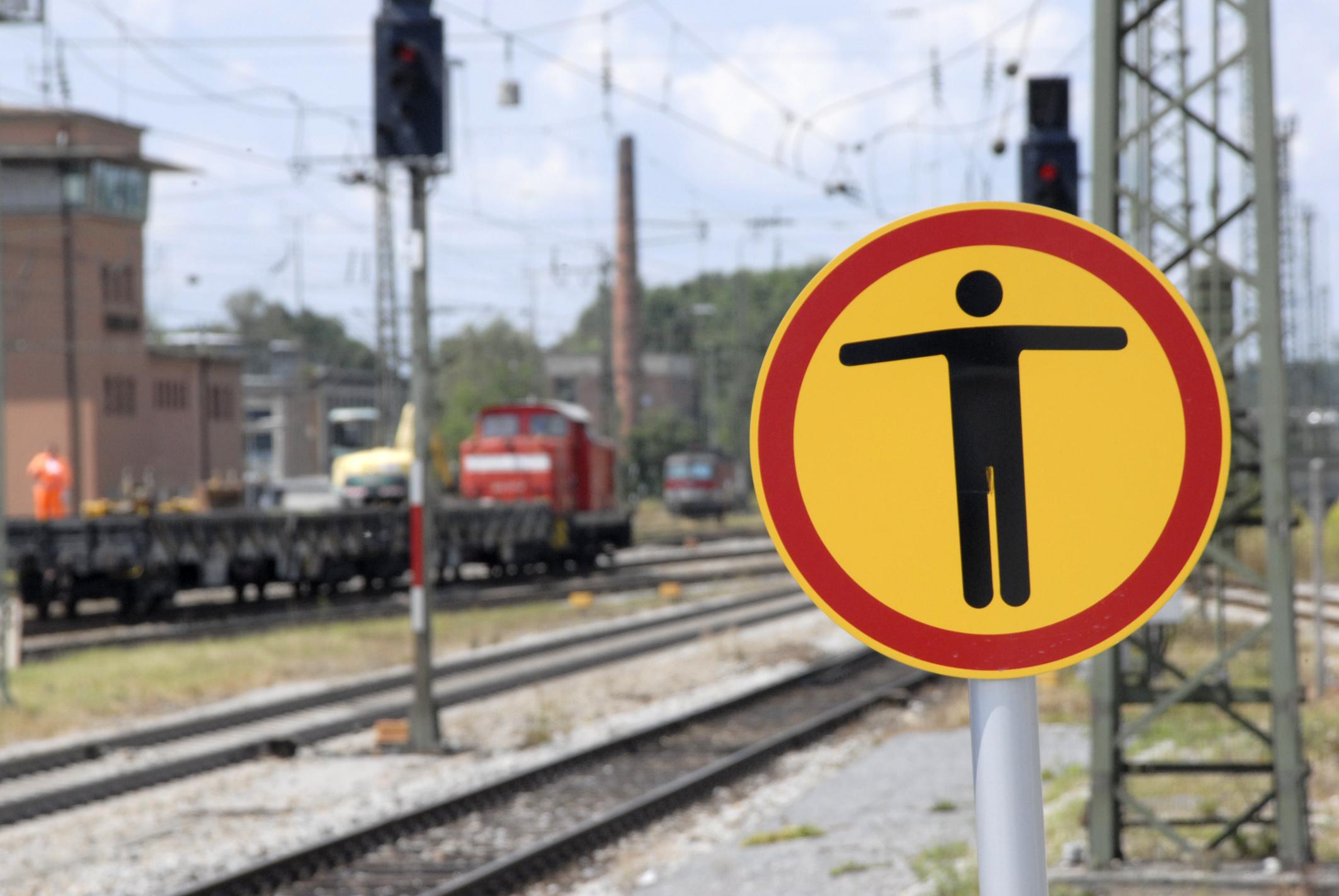 Bahnanlage Gleise 2