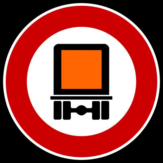Gefahrengut sign