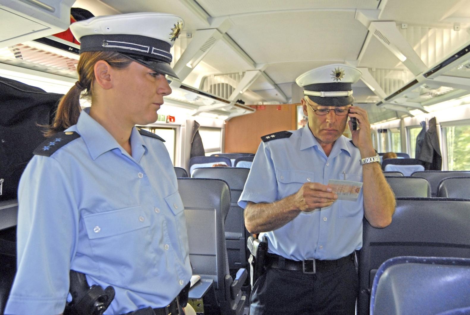 Bundespolizei Abfrage Zug