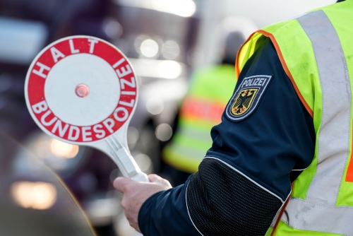 Bundespolizei Stopp