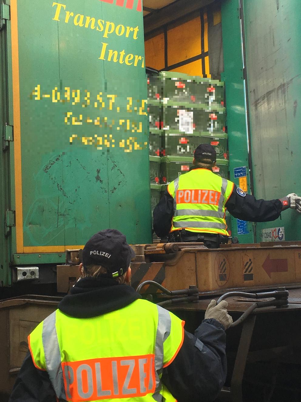 Güterzugkontrolle 1