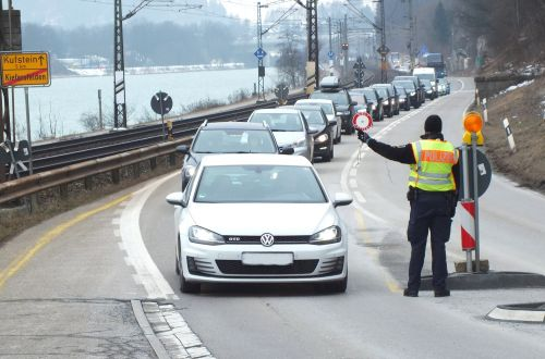 Mobile Grenzkontrolle Kiefersfelden