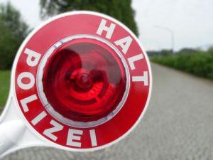 Polizei Halt