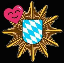 Polizei Herz