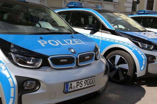 Polizeiautos EAutos