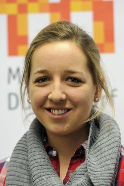 Franziska Preuß bei der Olympia Einkleidung Erding 2014 Martin Rulsch 03