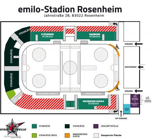 emilo stadion hallenplan gesperrte-Flaechen