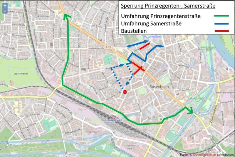 Umfahrung Prinzregentenstraße