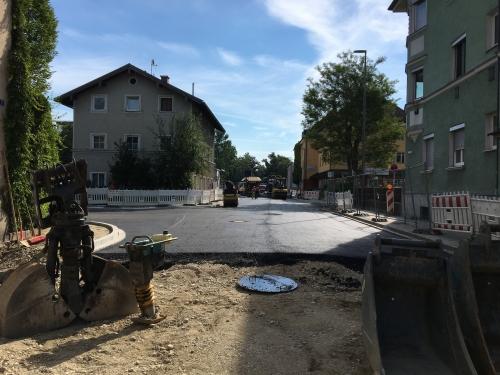 0714 Ellmaierstraße Bauarbeiten
