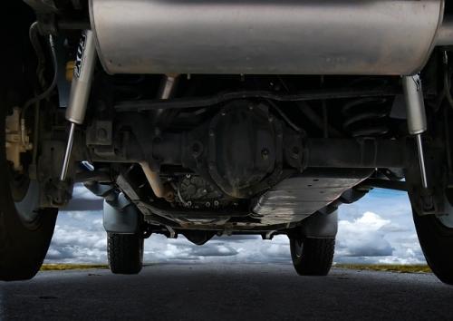 Auto Unterboden Kathalysator