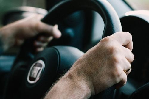 Autofahren Lenkrad