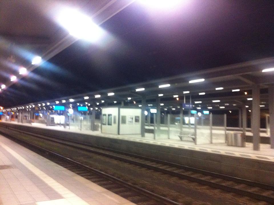 Bahnhof Rosenheim Bahnsteig