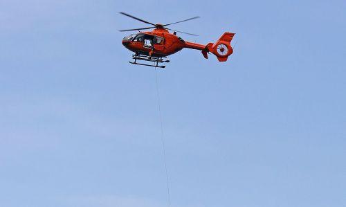 Bergrettung Hubschrauber Christoph14