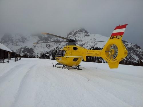 Bergrettung Hubschrauber OEAMTC