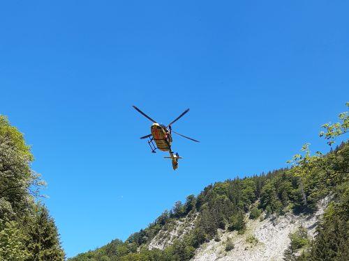 Bergwacht Rettungshubschrauber ADAC