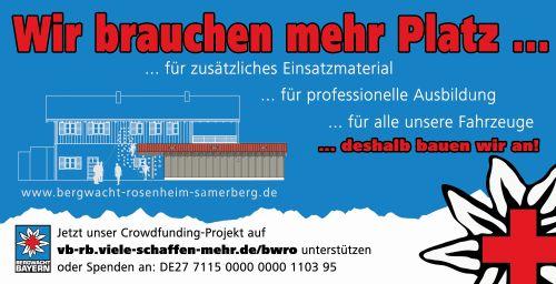 Bergwacht Samerberg Plakat