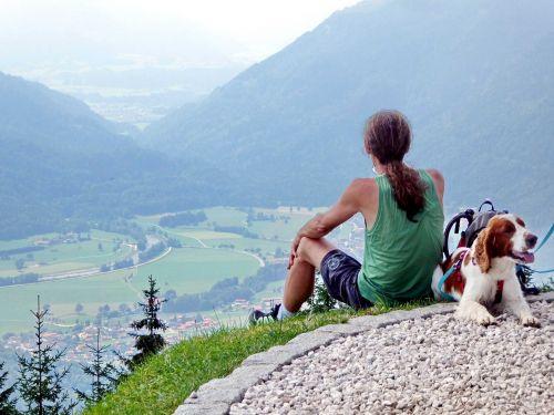 Bergwandern Symbolbild