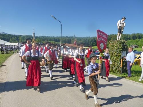 Bezirkmusikfest Umzug