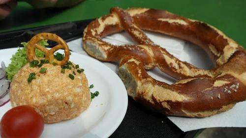 Biergarten Brotzeit Essen Genuss