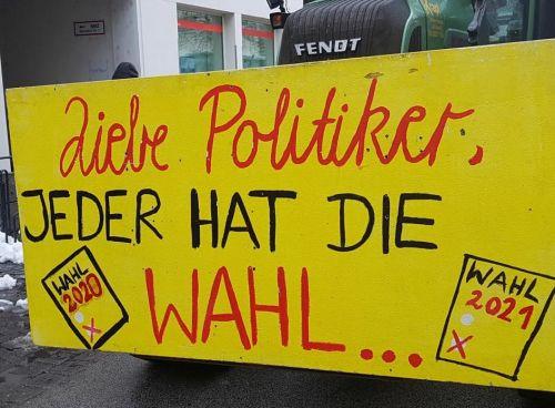 Brennerdialog Protestplakat