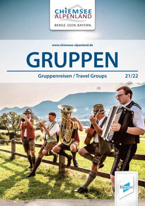 Broschüre Gruppenreisen