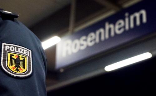 Bundespolizei Rosenheim Bahnhof