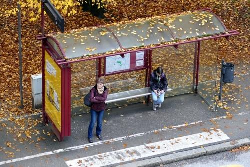 Bushaltestelle 2