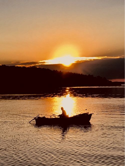 Chiemsee Sonnenaufgang 2
