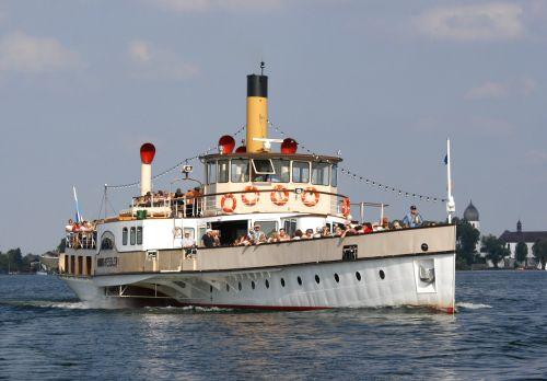 Chiemseeschiffahrt MS Ludwig Feßler
