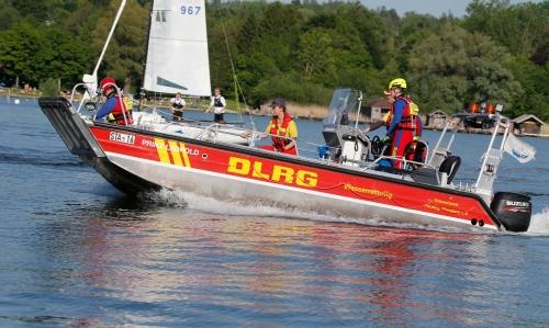 DLRG Motorboot