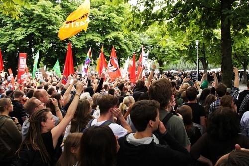 Demo Symbolbild Protest 1