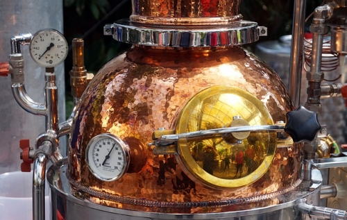 Destillerie Brennerei