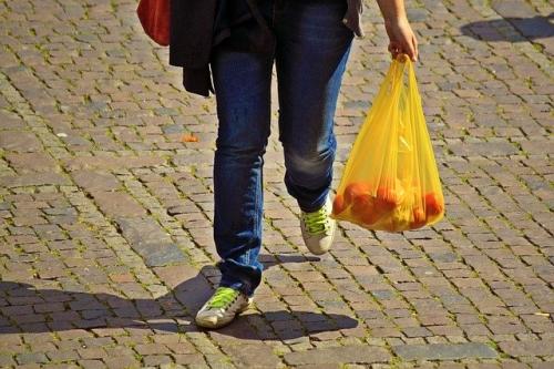 Einkaufstasche Lebensmittel