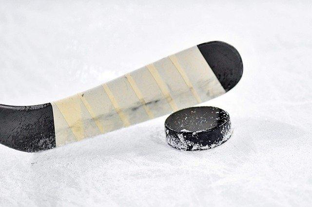 Eishockey Eis Schläger Puck