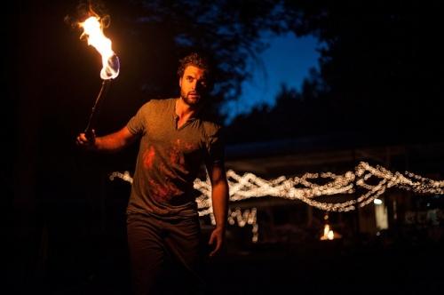 Fackel Feuer Fest