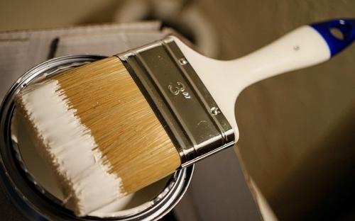Farbe Lack Pinsel Umweltmobil