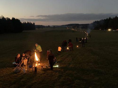 Feuerkette Foto Brennerdialog