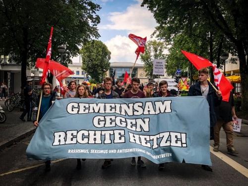 Gegen rechte Hetze Rosenheim 2019