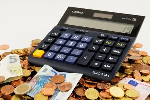 Geld Rechner Münzen sparen 1
