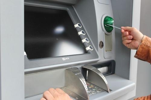 Geldautomat Bank