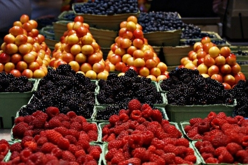 Gemüse Obst Markt