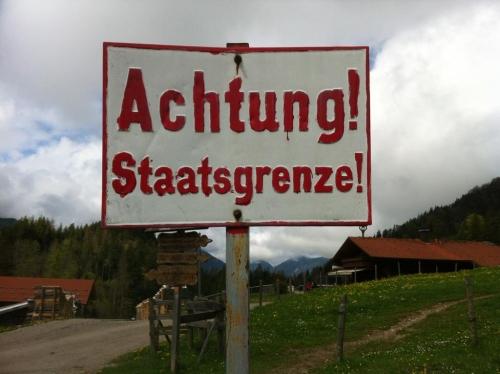 Grenze Oesterreich
