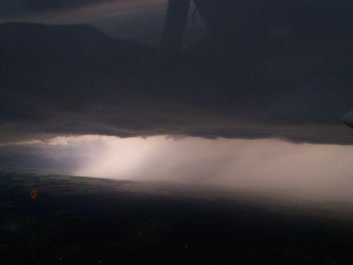 Hagelflieger Unwetter Gewitter Foto Georg Vogl