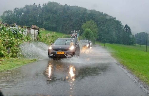 Hochwasser Autos August20