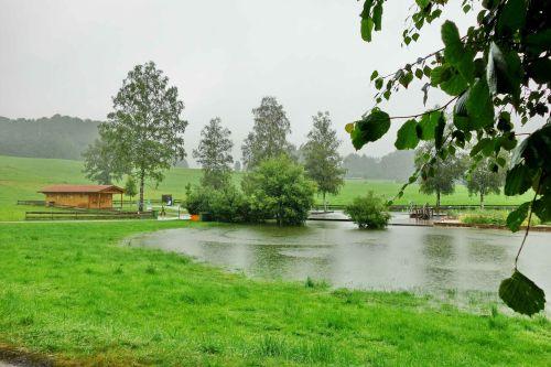 Hochwasser Naturbad Samerberg August20