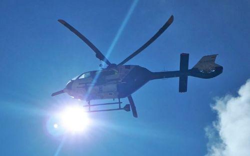 Hubschrauber Sonnenschein