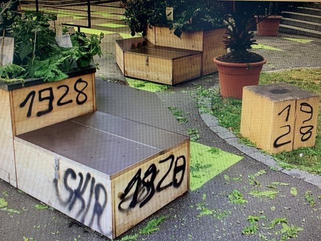 Kübel Salzstadel Vandalismus